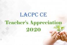 Teacher's Appreciation 2020